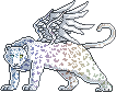 Spectral Leopard Pixel by loulaLETHAL
