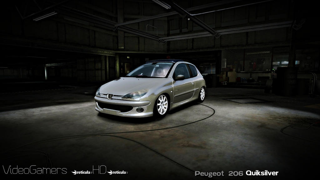rfactor peugeot 206 1 6quiksilver by thvideogamershd on deviantart. Black Bedroom Furniture Sets. Home Design Ideas