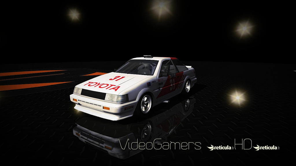 rFactor - Toyota Corolla Coupe GT AE86 A6 by THVideoGamersHD