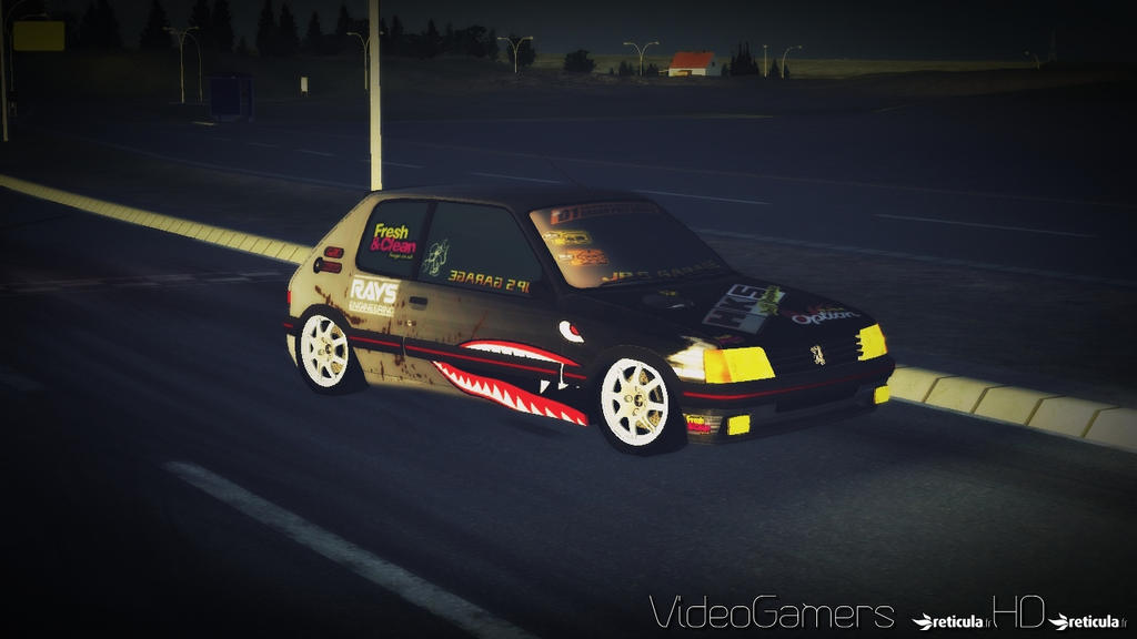 rFactor - Peugeot 205 Drift Car 1 by THVideoGamersHD on