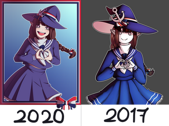 Wadanohara Before and After!