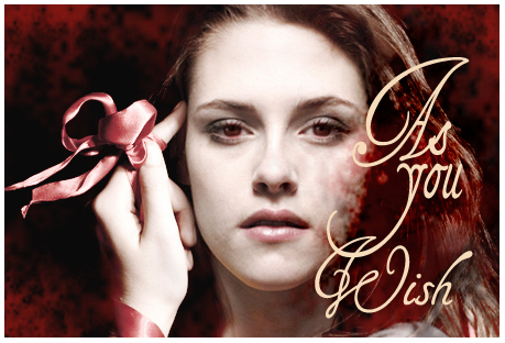 Story banner, Bella with red eyes