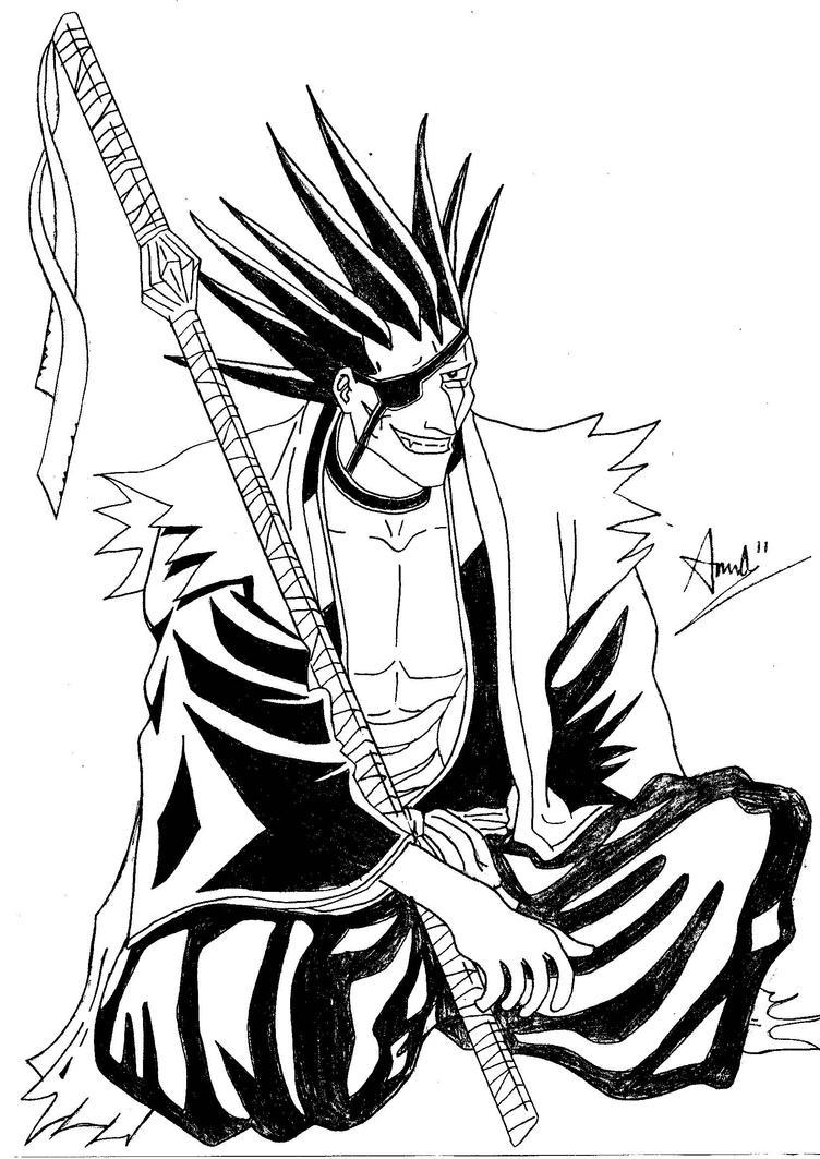 Kenpachi Zeraki Bleach By BOSHHIDO