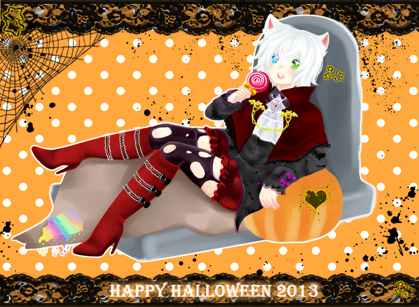 happy halloween 2013 by asamiXD