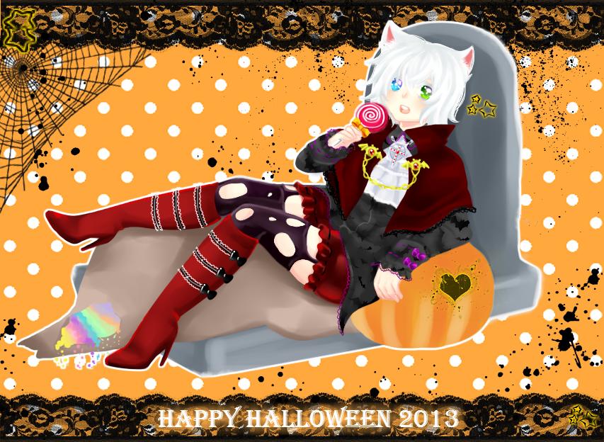 happy halloween 2013 by asamiXD