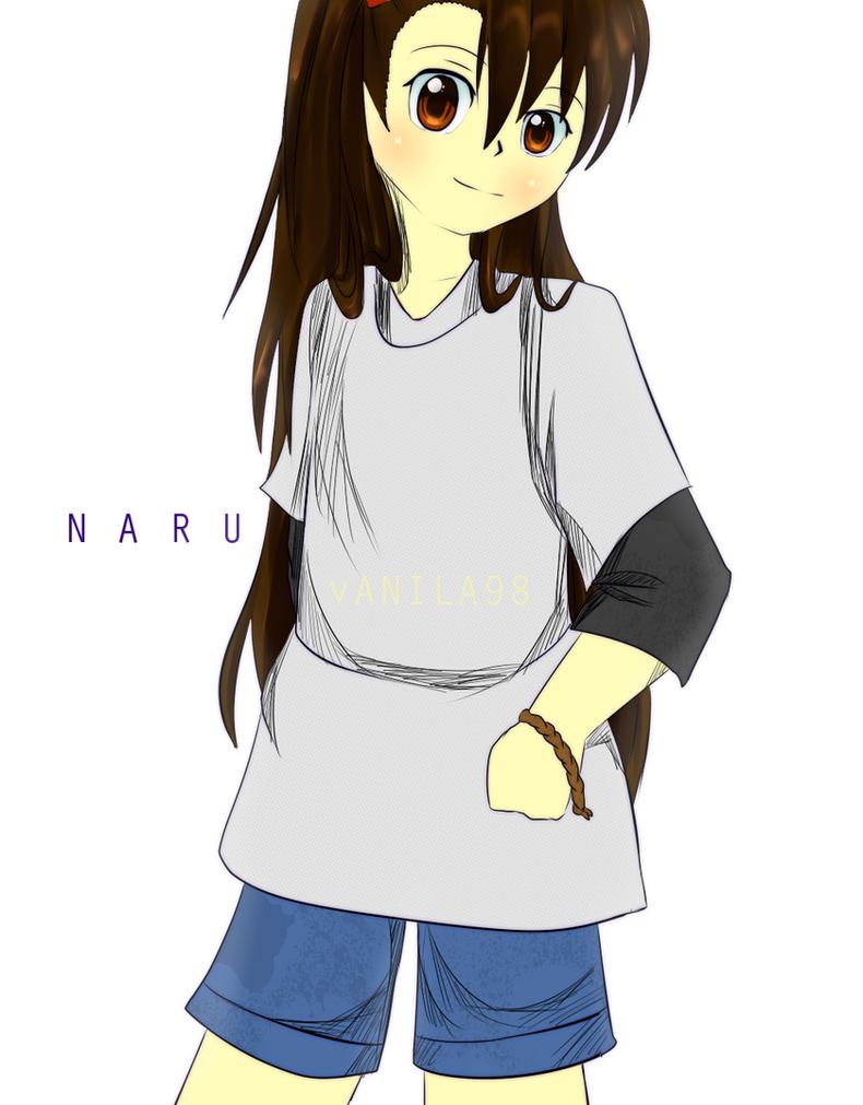 Barakamon : Teenager Girl Naru by Fia-V98