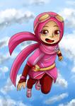 Chibi Boboiboy : 02 Yaya by Fia-V98