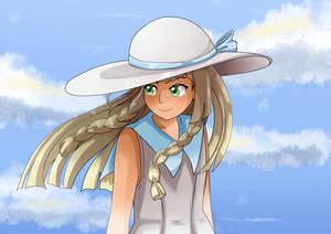 Pokemon Sun and Moon : Lilie