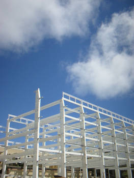 structure and sky