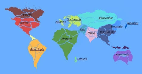 Hypoemtasia - The World Map of Hypoemtasia