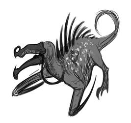 Digital Sketches - DAGGER BOI