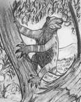 Hypoemtasia Bestiary - Drop-bear by Hypoem87