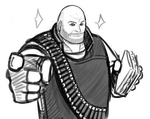 Random Sketches - Heavywich