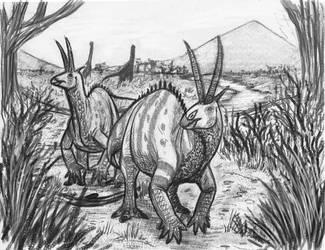 Hypoemtasia Bestiary - Afrodicraceros