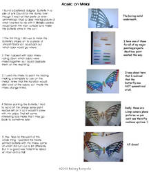 Butterfly Step By Step by DruidElf