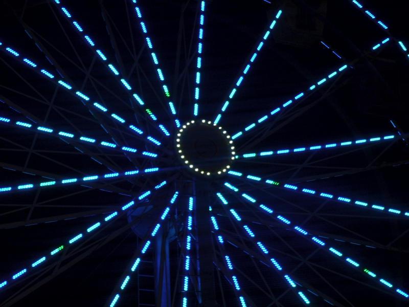 Photo: Blue Wheel by Audrykuu