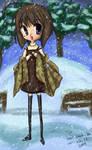 Shiori in Snow