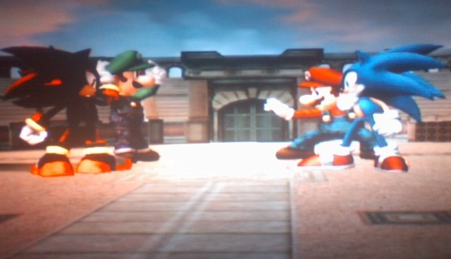 Shadow Luigi Vs. Sonic Mario by - 50.3KB