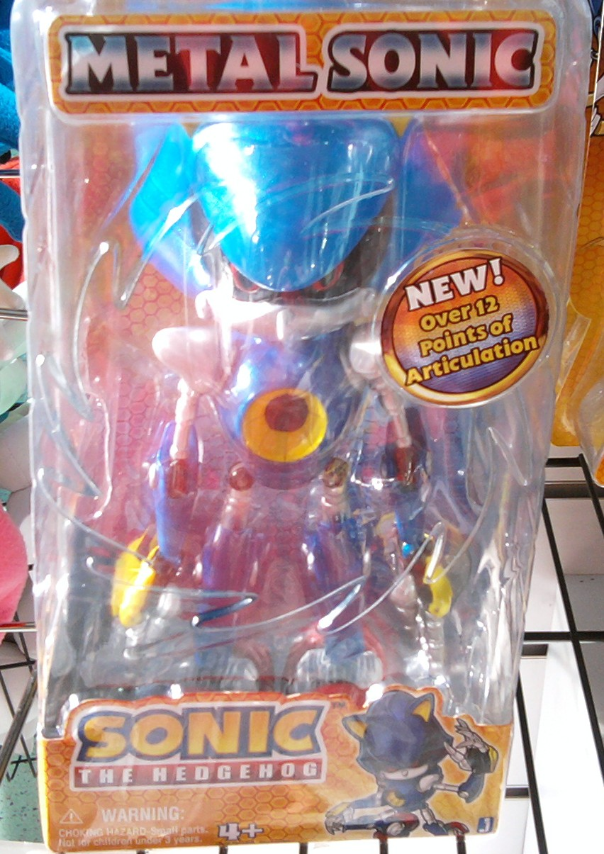 Metal Sonic figure by sonicfan40