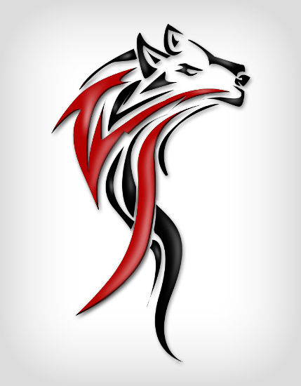 Wolf Tribals by HaskDitex