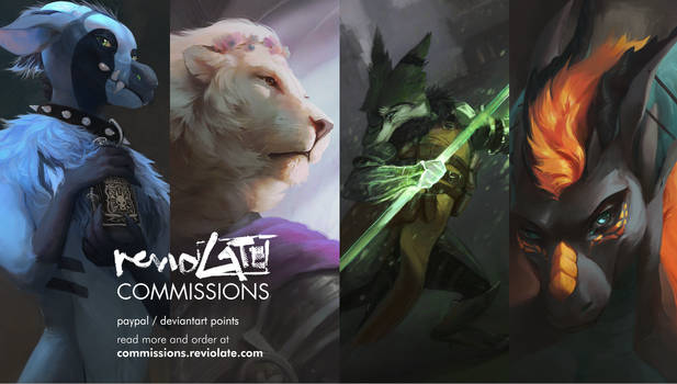 commissions hold (updating but busy)