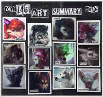 art summary 2018 by revioLATE
