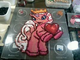 Filly Pony Perler Beads by Kirikina