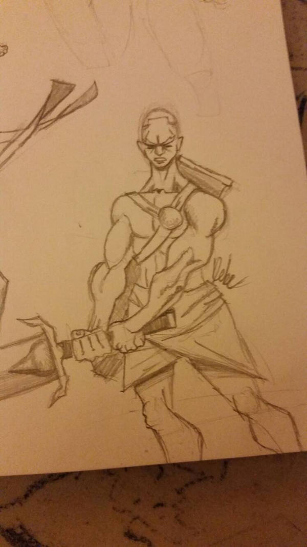 another SWORDSMAN by christopher72