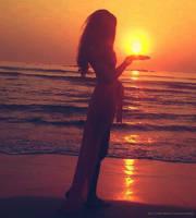 SUN in my hand