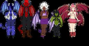 Demon Girl Adopts: CLOSED