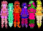 Bubblegum Girl Adopts (CLOSED)