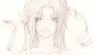 Satsuki sketch by Petshop17