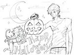 Halloween 2011 lineart by Petshop17