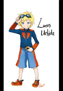 Digimon OC - Lucas Uchida