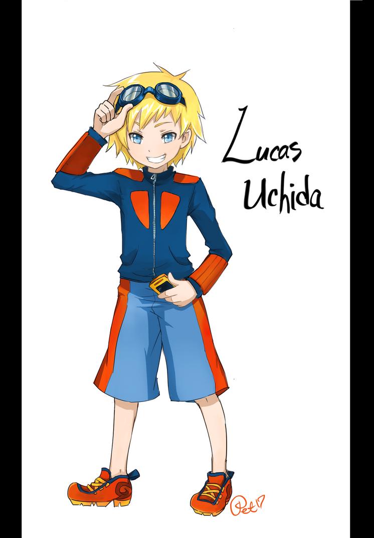 Digimon OC - Lucas Uchida by Petshop17