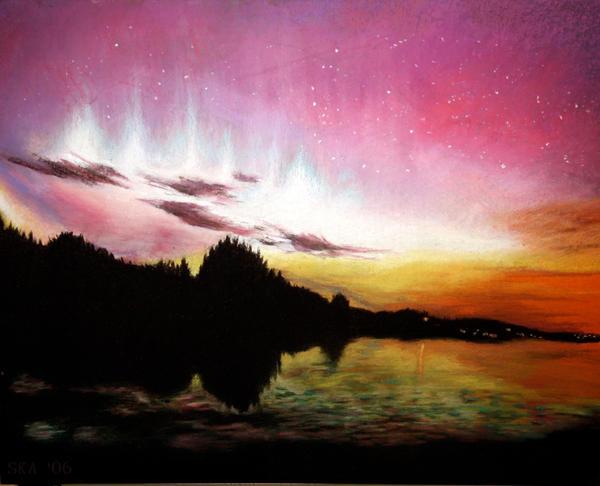 Aurora Borealis by nimbuda