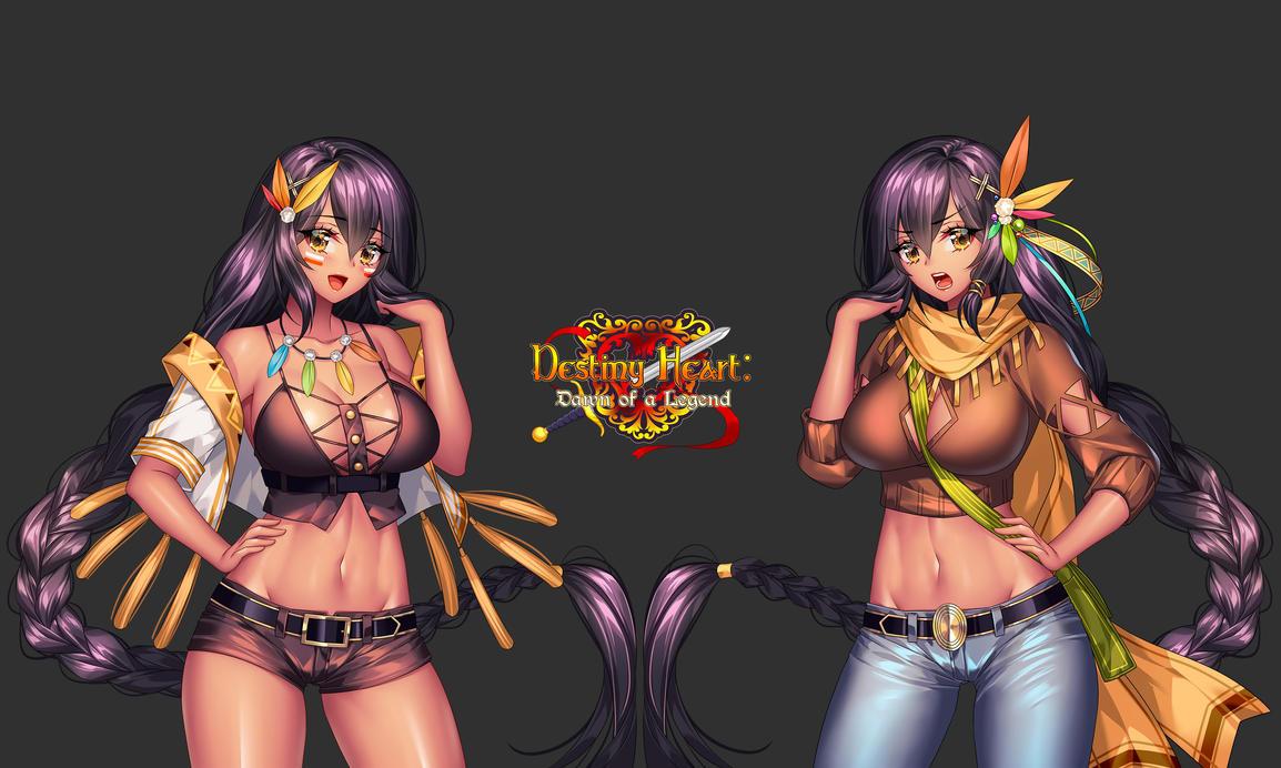 COM # Visual Novel: Winona by KCD491