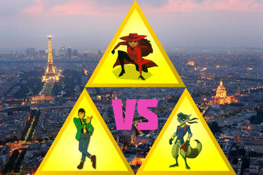 carmen sandiego vs sly Cooper vs lupin the 3rd by crossover-619