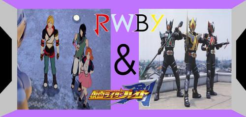 RWBY AND KAMEN RIDER BLADE version 2 by crossover-619