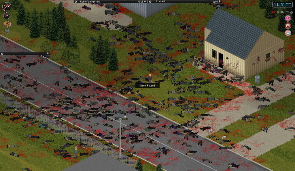 Project Zomboid Not In My Town by RobDeLaMorte on DeviantArt
