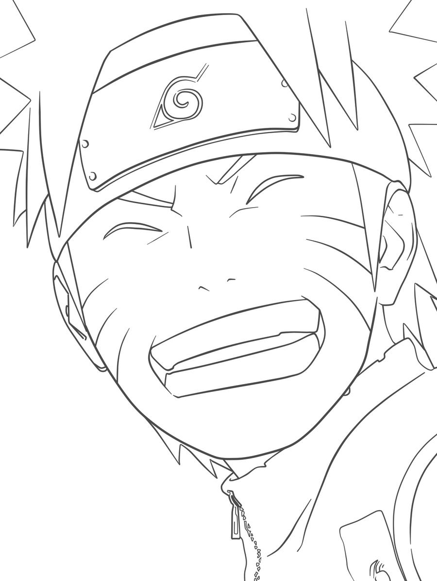Naruto Lineart : Naruto lineart by joshhia on deviantart