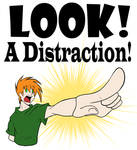 Look a Distraction Design by eecomics