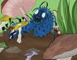 Wunder City- Caterpillar Fight