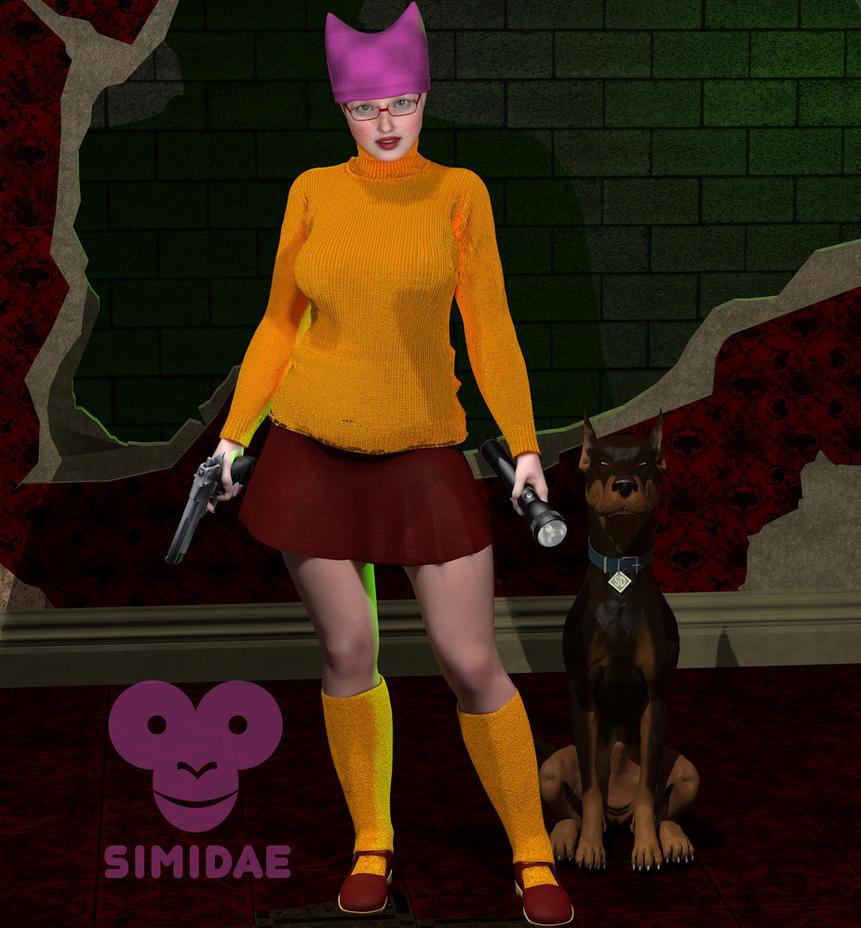 Velma pink by Simidae