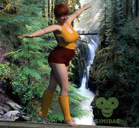 Velma spring by Simidae