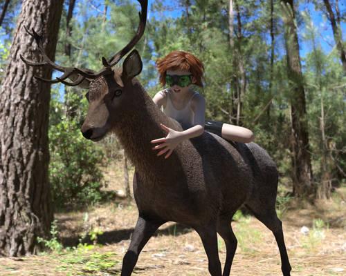 Ed, Deer 2