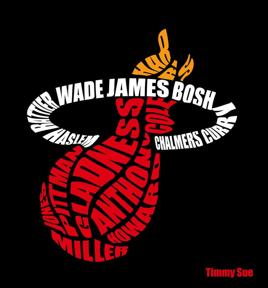 Miami Heat Logo by timmytheazn