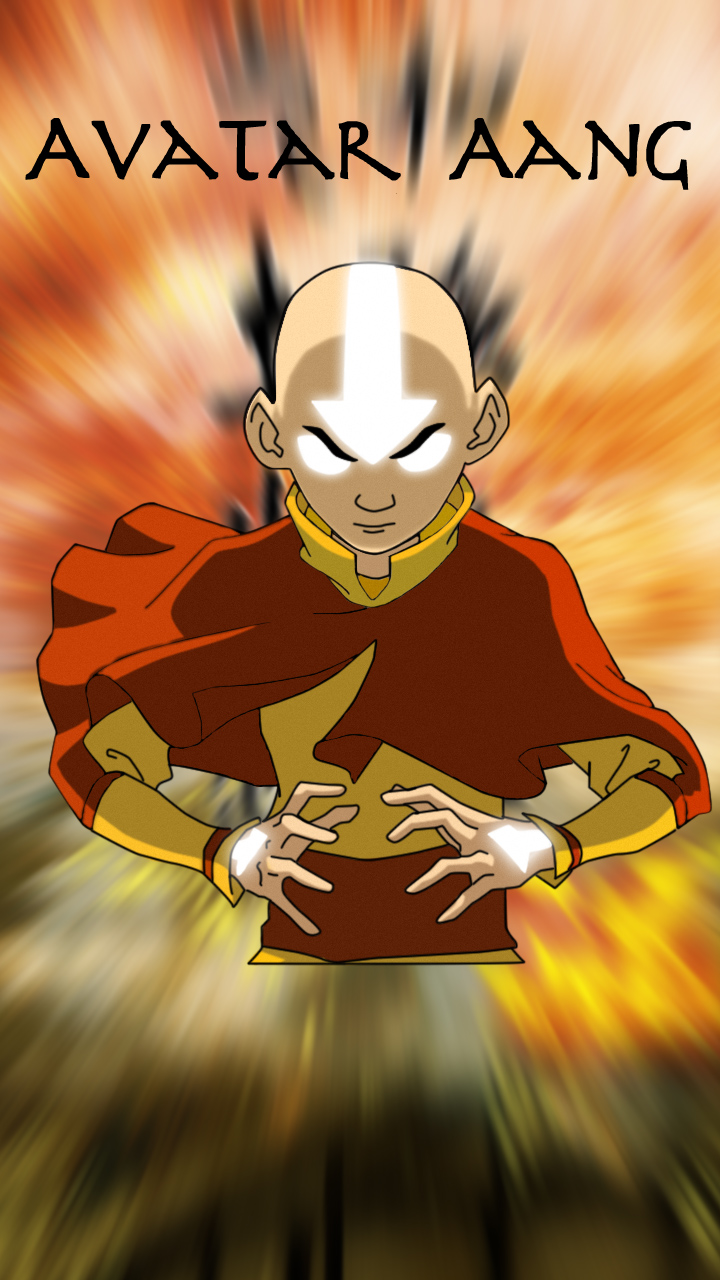 Avatar Aang with background by sTEPHEN97 on DeviantArt: stephen97.deviantart.com/art/Avatar-Aang-with-background-183396338