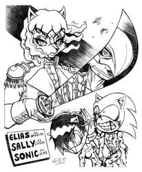 Berserk SATAM Mash-Up 5 Of 6- Elias  Sally  Sonic