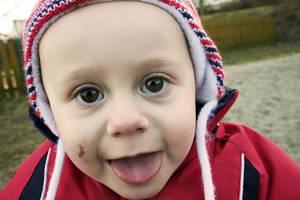 My son Krystof 1 year - march 2012 by weronicamc